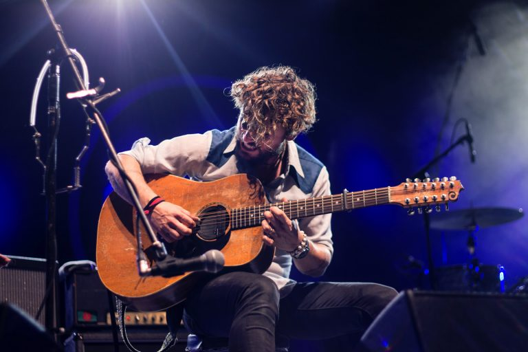 12-strings acoustic guitar